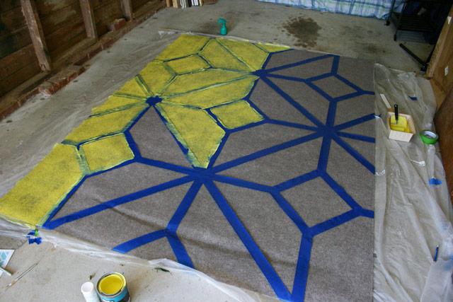 Progress Painting Outdoor Rug