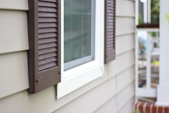 Update Worn Vinyl Shutters with ArmorAll