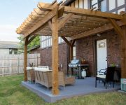 Completed Community Service Patio Pergola Project