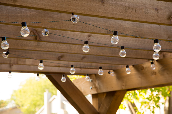 Solar Powered Moonrays Patio Lights Hanging with Cup Hooks
