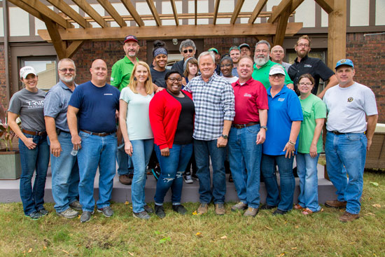 Volunteers Who Helped Launch Outreach's Manna House