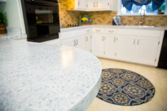 How to Paint Counters to Look Like Granite