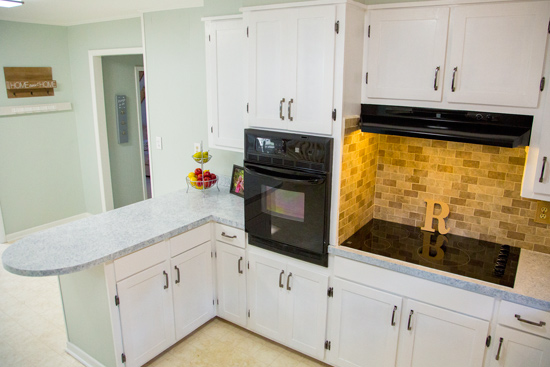 Old Kitchen Given New Life After Budget Facelift