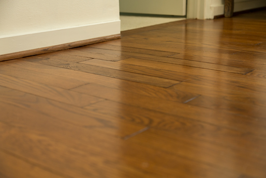 Boards In Your Hardwood Floor English Chestnut Stained Oak Floors After Repair
