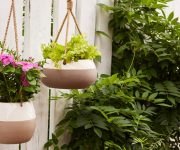 Mother's Day Giveaway Hanging Planters from Southern Patio