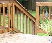 Building Gate for Wooden Deck