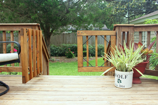 How to Baby Proof a Wood Deck