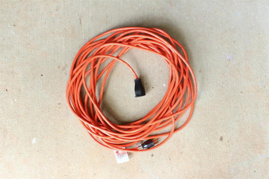 Inexpensive Way to Repair an Extension Cord
