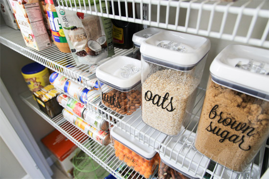 Free Pantry Labels Download | Checking In With Chelsea