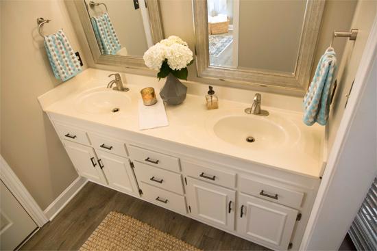 Stylish, Hotel Vanity in Master Bathroom