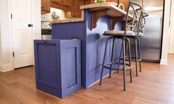 DIY Trash Can Cabinet Plans