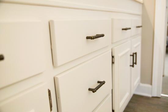 New Drawers Pulls for Bathroom Vanity