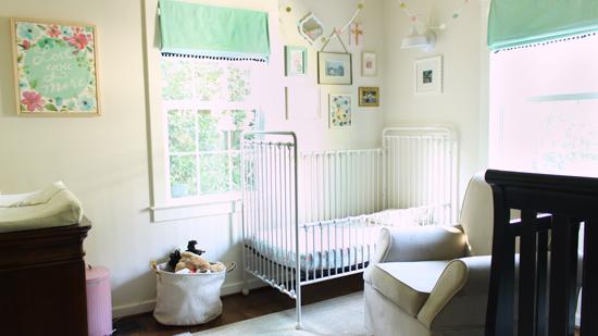 Boy and Girl Shared Bedroom From Hallway Door