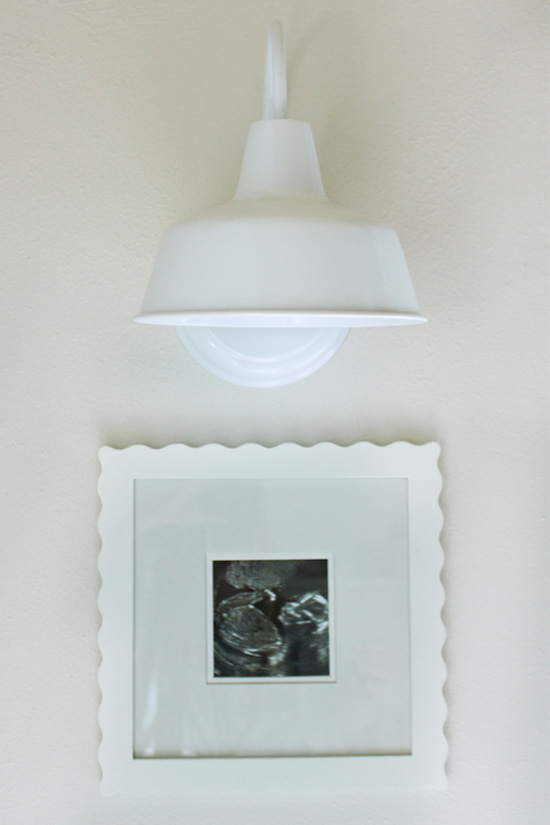Wall Sconce Hung on Bedroom Wall without Electrical