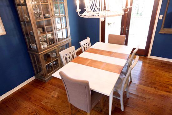 Dark Dining Room Before Budget Updates