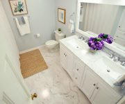 Marble Bathroom Updated Makeover Complete