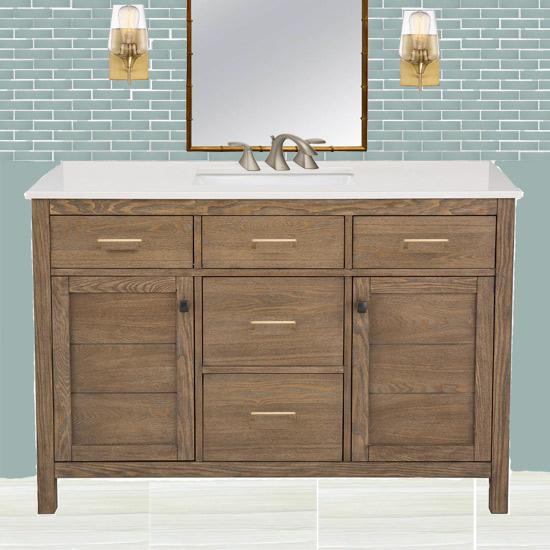 Bathroom Vanity Moodboard Design