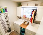 Small Laundry Room Makeover Facelift Complete