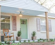 Painting Brick House for Cozy Curb Appeal