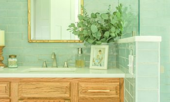 Completed Master Bathroom Addition Reveal