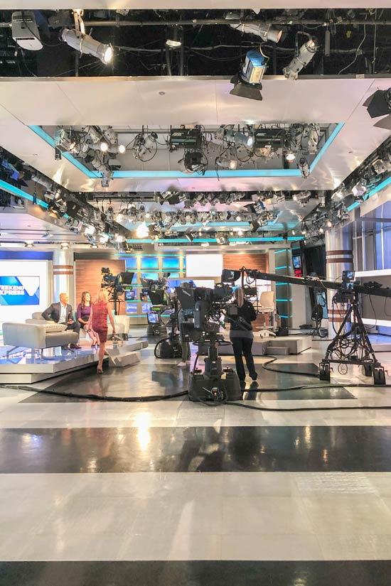 HLN Morning Express Weekend Express News Studio