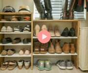 DIY Shoe Rack for Closet Video