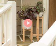 Build a Cheap Planter Stand from Cedar