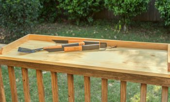 How To Build a Wood Serving Tray for Deck Entertaining