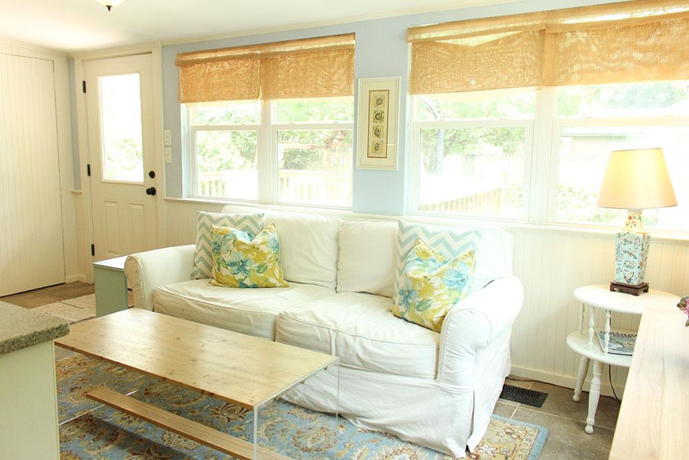Sunroom from Dining Room