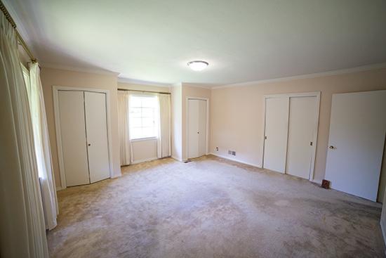 Master Bedroom View from Bathroom Door
