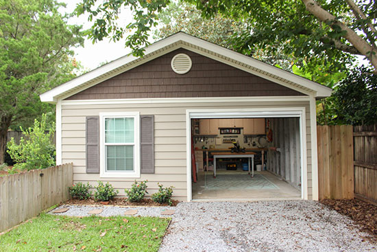 Single Car Garage Cleaned Up for Home Staging and Selling