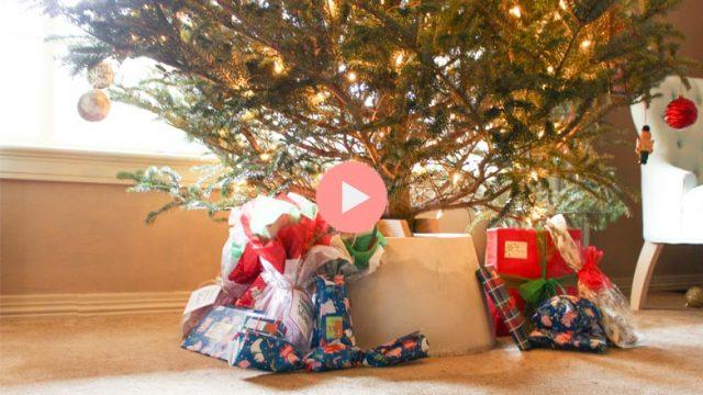 DIY Concrete Christmas Tree Stand Video