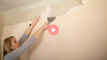 Easy Way to Remove Wallpaper How To Video