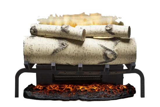 Birchwood Electric Fireplace Logs Insert