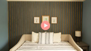 How to Create a Wood Feature Accent Wall