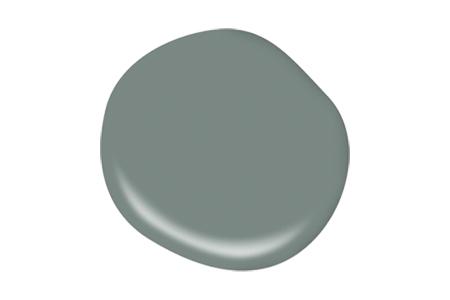 Juniper Ash Behr Green Paint Color Drop