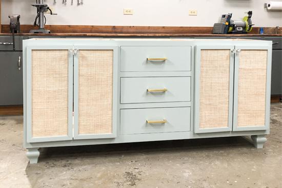 Sausalito Bath Vanity DIY Build Completed